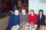 Ph.D. Defence victory lunch, 2004